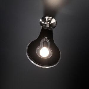 Selene Designové stropní světlo Flat 32cm černé