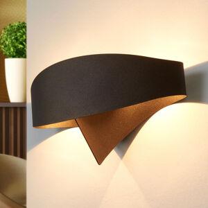 Selene Bronzové designové nástěnné světlo Scudo