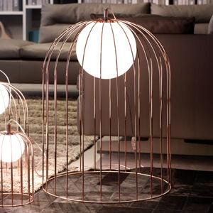 Selene Stolní lampa Kluvi ve tvaru klece v mědi