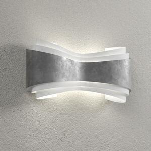 Selene Ionica - LED nástěnné světlo s lístkovým stříbrem