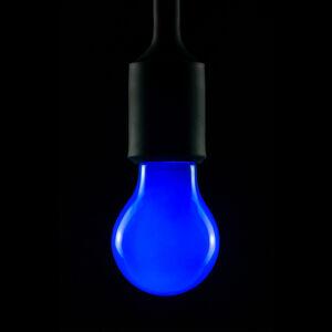 Segula E27 2W LED žárovka modrá stmívací