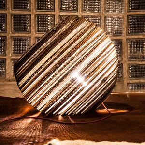 THINK PAPER Think Paper Globe stolní lampa z kartonu, Ø 44 cm