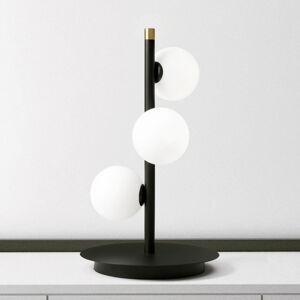 MILOOX BY Sforzin Stolní lampa Pomì se třemi skleněnými koulemi