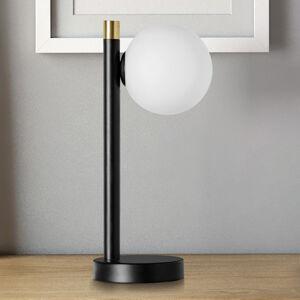 MILOOX BY Sforzin Stolní lampa Pomì jeden zdroj se skleněnou koulí
