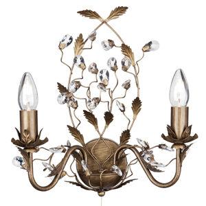 Searchlight Nástěnné světlo Almandite, florentský styl hnědá