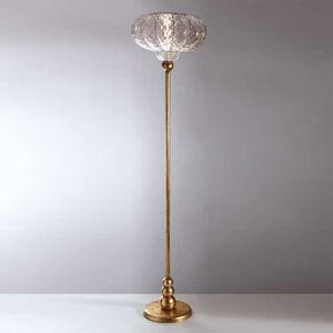 Siru Stojací lampa SULTANO s ručně foukaným sklem