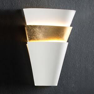 Schuller LED nástěnné světlo Isis s lístkovým zlatem