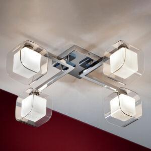 Schuller Cube - LED stropní svítidlo se čtyřmi stínidly