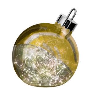 Sompex Dekorační světlo Ornament, zlatá, Ø 30 cm