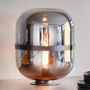 Sompex Stolní lampa Baloni se stínidlem z kouřového skla