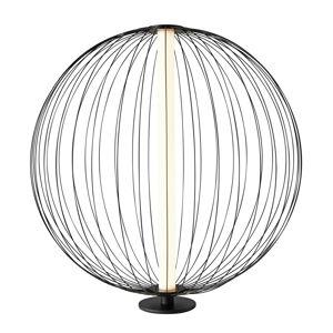 Sompex LED stolní lampa Atomic, variabilní stínidlo