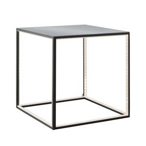 Sompex Osvětlený konferenční stolek Delux, černý, 42 cm