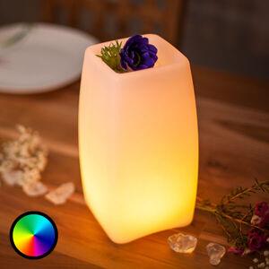 Smart&Green LED stolní lampa Stele s baterií ovládání aplikací