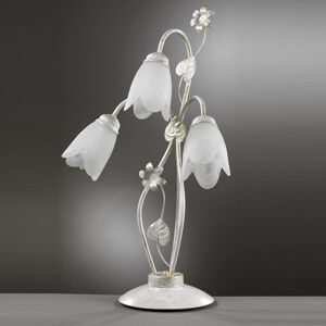 EULUNA Florentská stolní lampa Petunia, 3 zdroje