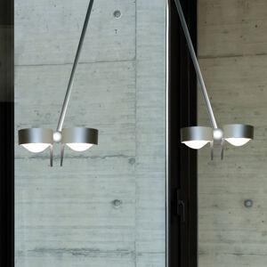 Top Light Závěsné světlo PUK CEILING; 4zdr chrom mat 80 cm