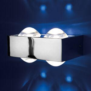Top Light 4 čočky: nástěnné světlo Focus 150, chrom