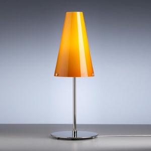 TECNOLUMEN Stolní lampa TECNOLUMEN Walter Schnepel oranžová
