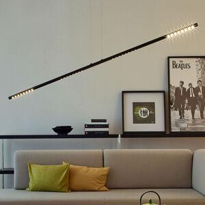 TECNOLUMEN TECNOLUMEN LUM L závěsné světlo, 135 cm, černá