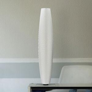 Tagwerk LED stojací lampa Flechtwerk Pur bílá 75 cm