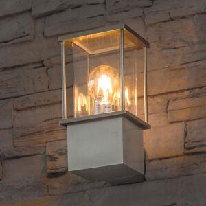 Heitronic Nerezové nástěnné světlo Rhodos