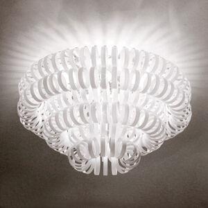 Vistosi Skleněné stropní světlo ECOS, bílé