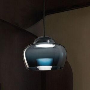 Vistosi Závěsné světlo LED Cristallina černé