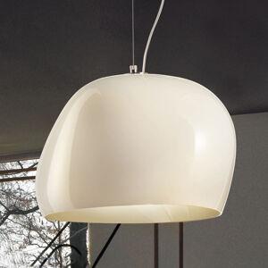 Vistosi Závěsné světlo Surface Ø 40 cm, E27 bílá/bílá mat