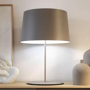 Vibia Vibia Warm 4901 stolní lampa, Ø 42 cm, béžová