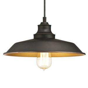 Westinghouse Westinghouse závěsné světlo Iron Hill, černé, 1