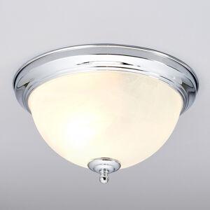 Lindby Koupelnové světlo stropní Corvin, barva chrom