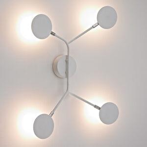 Wofi LED nástěnné světlo Belize, 4 zdroje bílá