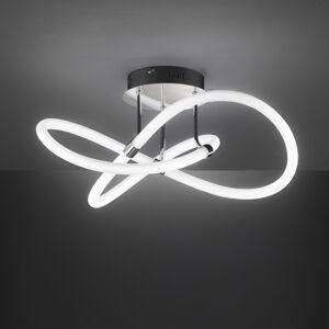 Wofi LED stropní svítidlo Mira ovladač, Ø 57,5 cm