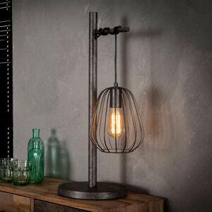 ZIJLSTRA Stolní lampa Kooitje z kovu, s klecovým stínidlem