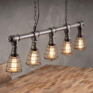 ZIJLSTRA Závěsné světlo Ventilamp, 5 zdrojů