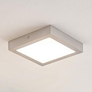 ELC ELC Merina LED stropní světlo nikl, 21,5 x 21,5cm