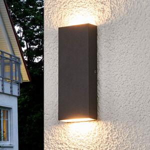 Lucande Ploché LED venkovní nástěnné svítidlo Corda