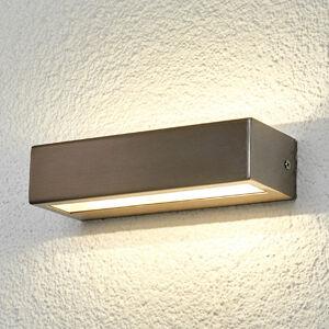 Lindby Patrica - nerezové LED venkovní světlo