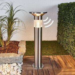 Lindby LED svítidlo Jalisa, solární technologie a senzor