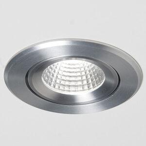 Molto Luce Agon Round LED spot 3000K 40° hliník kartáčovaný