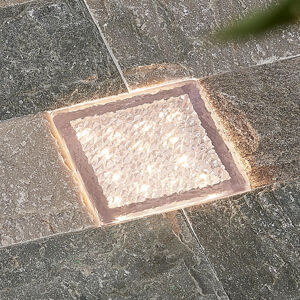 PRIOS Prios Ewgenie LED podlahové svítidlo, 10 x 10 cm
