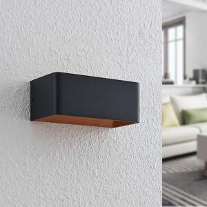 Arcchio Arcchio Karam LED nástěnné světlo, 20 cm, černé