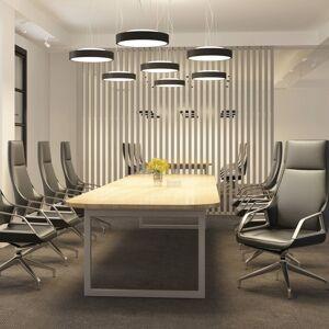Arcchio Arcchio Vanida LED závěsné světlo, černé, 40 cm