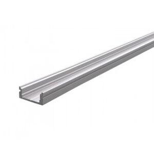 AU-01-10 plochý U-profil pro 10 - 11,3 mm LED pásek, matná stříbrná - LIGHT IMPRESSIONS