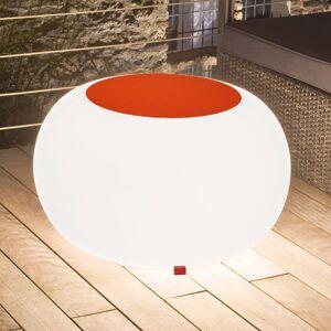 Moree Bubble Outdoor stůl E27 svítidlo, plsť oranžová