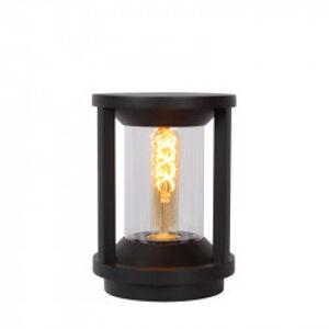 CADIX venkovní osvětlení 22cm E27/max 15W led černá
