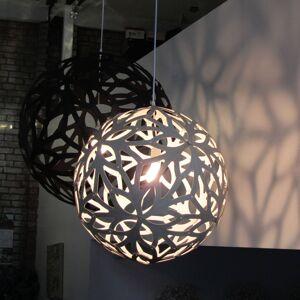 DAVID TRUBRIDGE david trubridge Floral závěsné světlo Ø 40cm černá