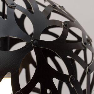 DAVID TRUBRIDGE david trubridge Floral závěsné světlo Ø 60cm černá