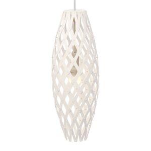 DAVID TRUBRIDGE david trubridge Hinaki závěsné světlo 50 cm bílá