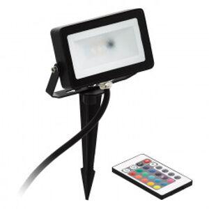 Eglo 98185 - LED RGB Reflektor FAEDO 4 LED/10W/230V + dálkové ovládání IP44 EGLO 98185