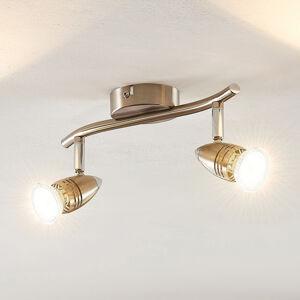 ELC ELC Kalean LED stropní svítidlo nikl, 2žárovkové